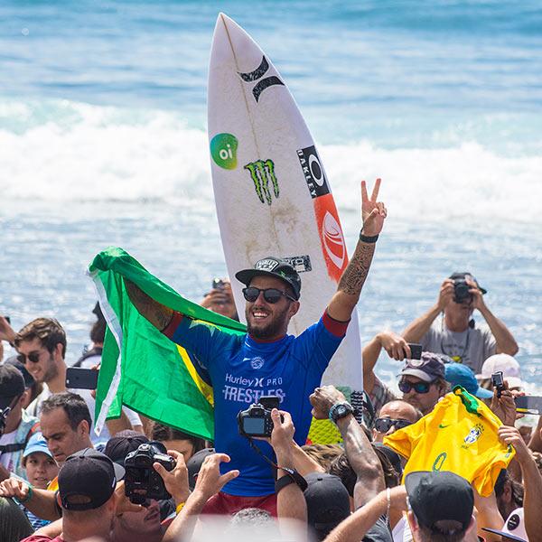 Filipe Toledo - World Surf League Hurley Pro