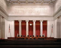The Courtroom of the Supreme Court of the United States