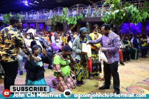APOSTLE JOHN CHI DECLARES THAT THIS WOMAN IS NOT A WITCH gift envelope