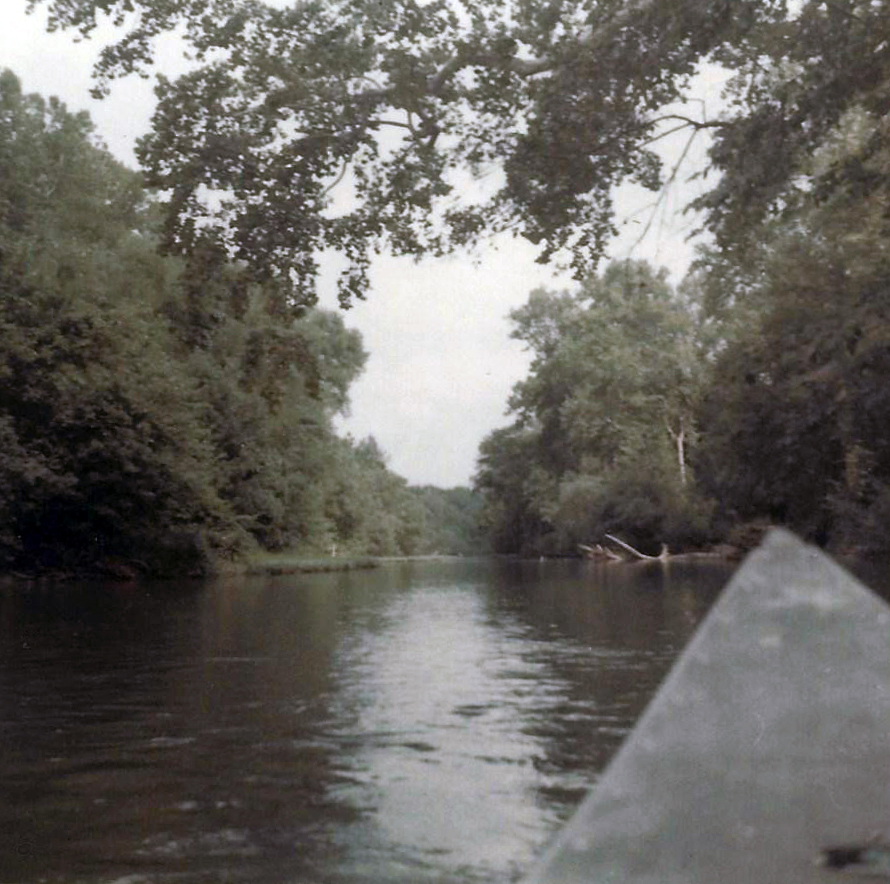 Canoeing the Little Nianqua River in the Ozarks