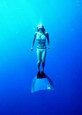 Breath-hold diver Junko Kitahama