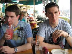 Brothers At Lunch