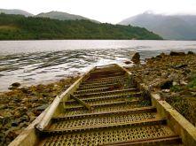 Rails Into Loch Leven