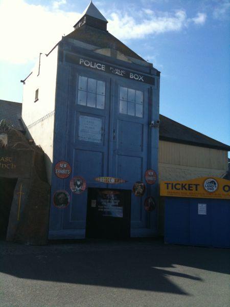 Giant Tardis At Lands End