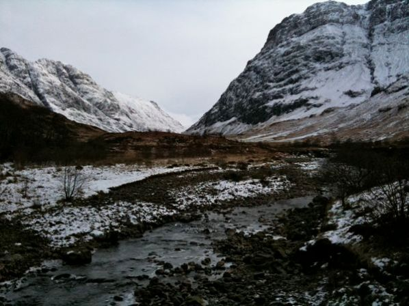Wintry Scene In Glencoe