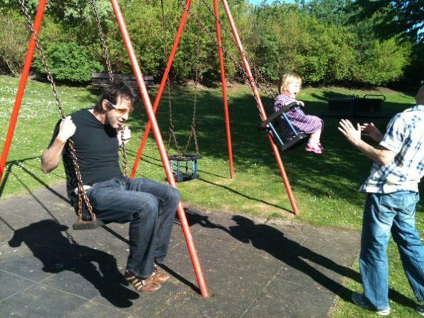 Nick On The Swings