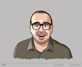 Justin Moorhouse illustration