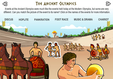 Ancient Greece - interactive content