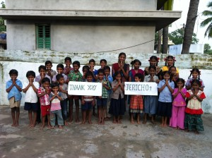big thank from kids