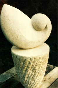 ' Shell ' Bathstone. Private Collection. U.S.A.