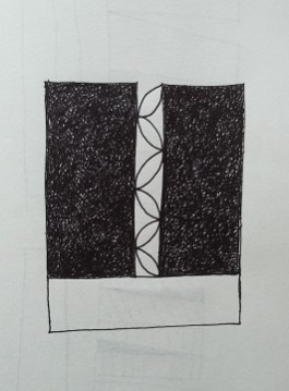 Sketch of Sculpture idea 1