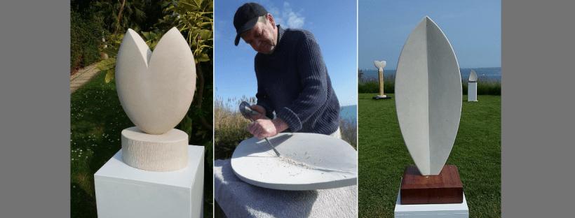 Sculptor John Davey Dorset