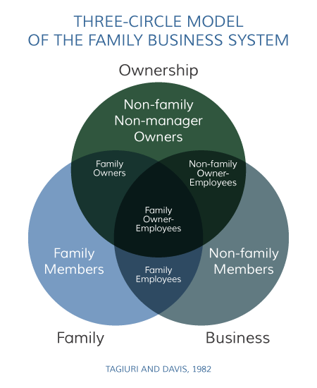 Three Circle Model of the Family Business System