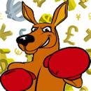 boxing-kangaroo-monetary-symbols
