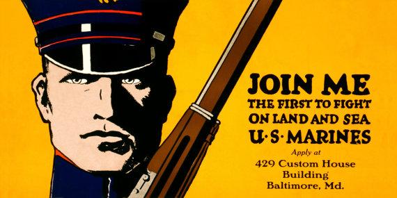 marine-wwi-recruiting-poster