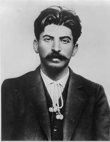 young Bolshevik Stalin