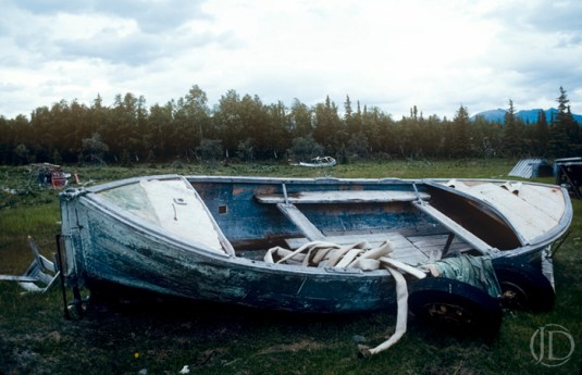 Old Boat - $1200 - 11x17 Kodachrome Color C Print in 18x22 frame - Edition of 10