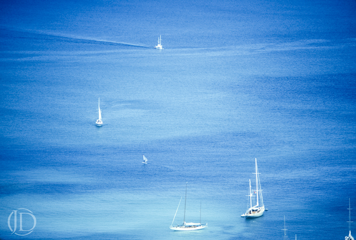 Sailboats - $150 11x17 Kodachrome Color C Print - Open Edition
