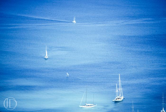Sailboats - $150 11x17 Kodachrome Color C Print - Open Edition