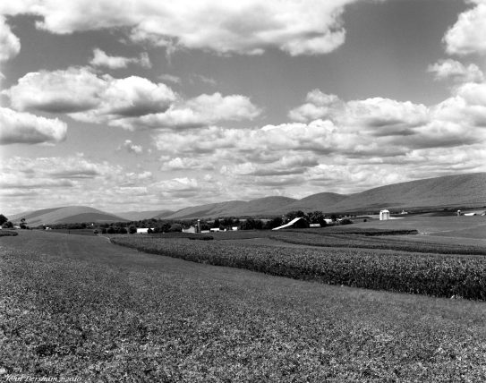 7-1-2010 Union County Pennsylvania-Linhof Technika V 4x5 camera-210mm Schneider Apo Symmar-K2 filter-Efke R50 4x5 film-PMK Pyro developer.
