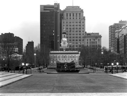 2-1983 Liberty Bell-Philadelphia PA.-Cambo 4x5-300mm Schneider lens-TXP 4x5-HC 110 B Dev.