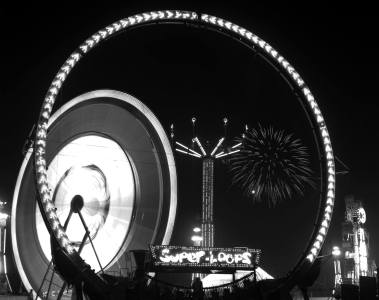 9-1981 Tennessee State Fair-Nashville Tennessee-Crown Graphic 4x5 camera-203mm Kodak Ektar lens-Ilford FP4 4x5 film-Edwal FG7 developer.