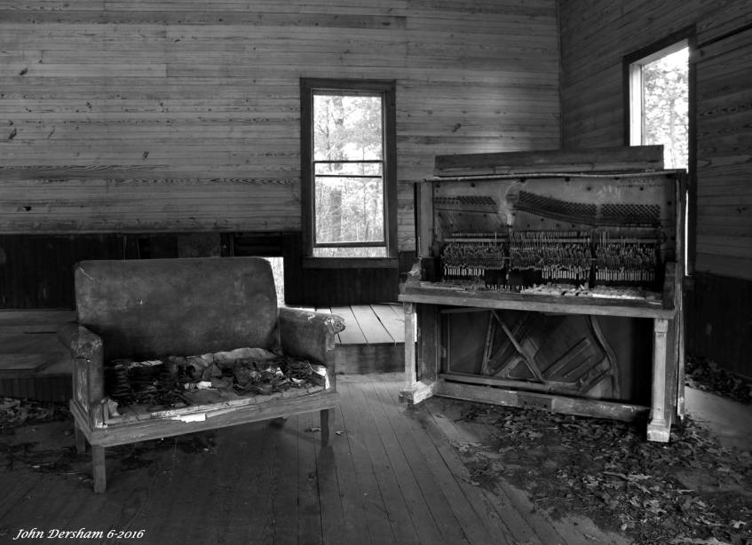 6-24-2016 Edna Hill Church-Est.1907-closed in the 1950's-on Lookout Mountain near Fort Payne Alabama-Canon 5D camera- 24-105L lens-Raw file.