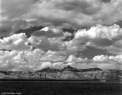 6-24-1990 Dubois Wyoming-Linhof Techika V-300mm Schneider Xenar lens-G filter-Kodak Tmax100 4x5 film-Kodak RS developer.