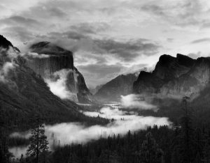 Yosemite Valley 10-1-1984 4x5 TXP film-Linhof Technika camera-HC110B developer.