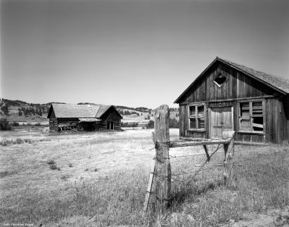 8-19-1988 Old store near Kirby Montana-Linhof Techika V 4x5 camera-90mm Schneider Super Angulon lens-G filter-Kodak Tmax 100 4x5 film-Kodak HC110B developer.