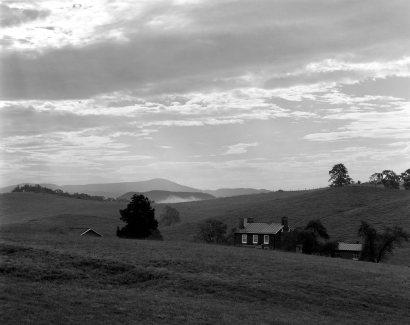 8-28-2012 Rural Virginia on U.S. Highway 11-Wista DX 4x5 camera-210mm Schneider Apo Symmar-K2 filter-Adox 50 4x5 film-PMK Pyro developer.