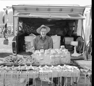9-1998 Trade Day in Collinsville Alabama-Hasselblad camera-80mm Zeiss Planar lens-Ilford HP5+ 120 film-PMK Pyro developer.