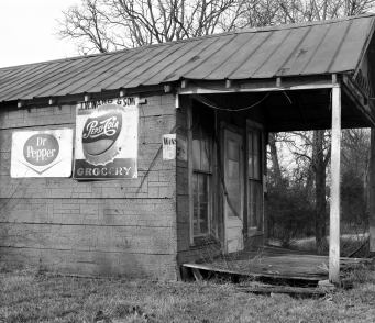 1-1979 Near Shelbyville Tennessee-Speed Graphic 4x5 camera-135mm Grapflex Optar lens-Kodak Plus X Pan 4x5 film-Kodak D76 developer.