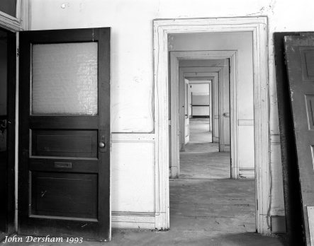 6-10-1993 Lyric Theater building sitting empty for years-pre renovation-Birmingham Alabama-Toyo M 8x10 camera-250mm Fujinon W lens-Kodak Tri X Pan Professional 8x10 film-PMK Pyro developer.