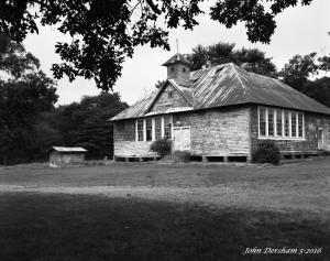 5-28-2016 Eargle School-Blount County Alabama-closed in 1964-Crown Graphic 4x5 camera-135mm Schneider Xenar lens-Adox CHS 50 4x5 film-PMK Pyro developer.