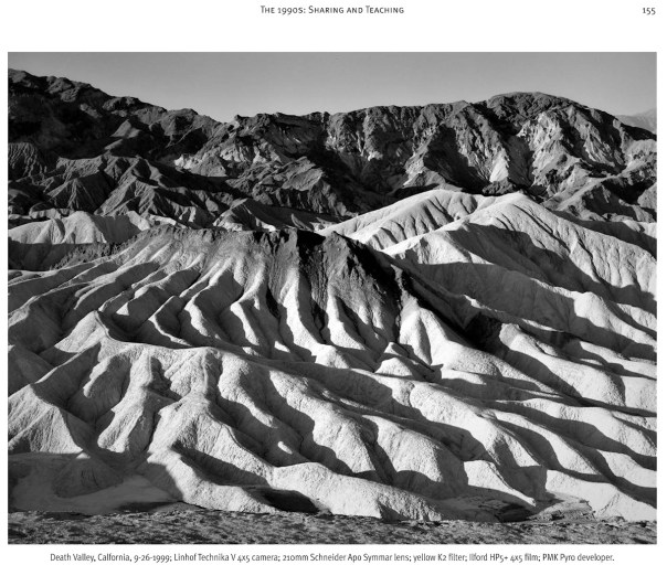 Changing Moods - Sixty Years in Black and White by John Alexander Dersham - Death Valley California