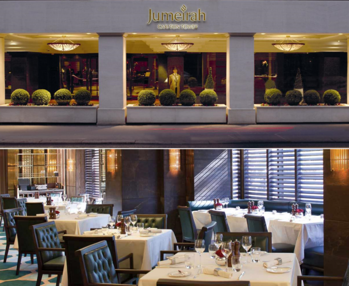 The Jumeirah Carlton Hotel