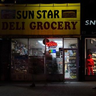 Night on Lenox, Harlem, by John Dowell artist photographer