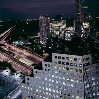 The Escape, Atlanta Cityscape, by John Dowell Artist Photographer