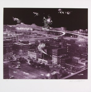 Untitled, Lithograph, by John Dowell Artist Photographer