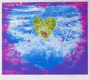 To Be of Love, Lithograph, by John Dowell Artist Photographer