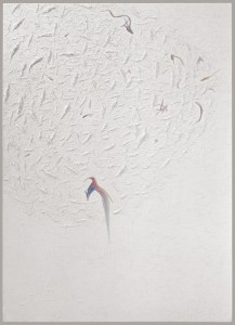 To Give, White Paintings, by John Dowell Artist Photographer