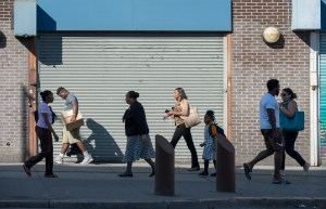 On the Way, Harlem, by John Dowell artist photographer