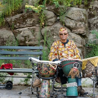 The 6-Piece Set, Harlem Drum Circle, by John Dowell artist photographer