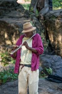 The Flautist, Harlem Drum Circle, by John Dowell artist photographer
