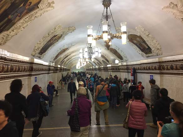 First glimpse of the Moscow Metro