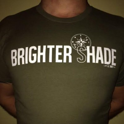 Brighter Shade Compass Design Tee