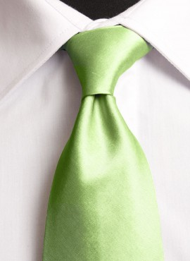 Lime Standard Tie (+ Handkerchief)