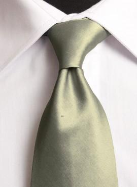 Olive Standard Tie (+ Handkerchief)