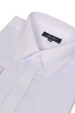 Plain Collar Dress Shirt